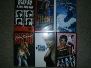 Verkaufe VHS Musik - Video - Kasetten