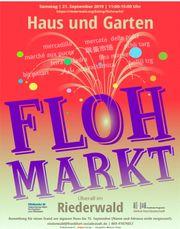 Haus- und Gartenflohmarkt Riederwald 21