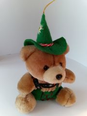 Souvenir aus Bayern Stofftier Teddy-Bär