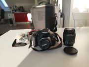 Spiegelreflexkamera Canon eos 600d Zubehör