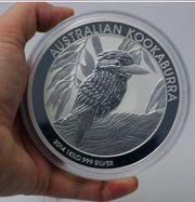 Silbermünze 1 kg Silber Kookaburra