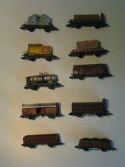 Arnold Spur N Güterzug verschiedene
