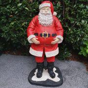 Dekofigur stehender Weihnachtsmann 120 cm