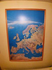 Große Wandkarte von Europa zu