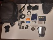 Nikon D5100 mit Ausrüstung