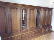 Gebrauchte Wohnzimmermöbel Eiche rustikal teilweise