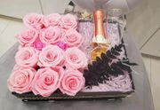 Blumenbox Flowerbox Rosen Box Valentinstag