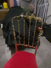 Stuhl Gold sehr schwer