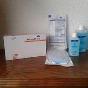 Einweghandschuhe OP-Masken Händedesinfektionsmittel