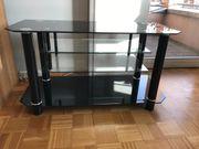 TV-Board schwarz Glanz neuwertig