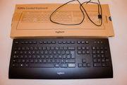 Neue LOGITECH Corded K280E Tastatur - Französisch