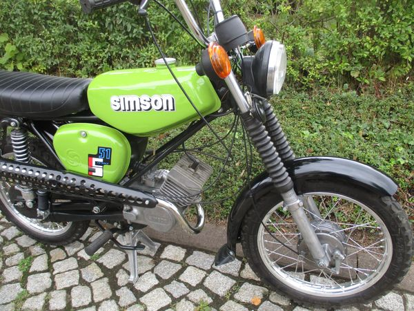 Simson S51 ENDURO 4Gang 60Km