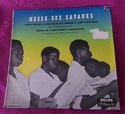 LP SchallplatteMesse des SavanesChorale Africaine