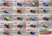 Disney CARS 114 VERSCHIEDENE MODELLE