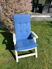 Sitzpolster und Stühle dazu geschenkt