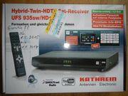 Kathrein Hybrid-Twin-HDTV-Sat-Receiver UFS935sw Hd