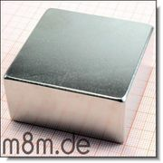 Todes- Monster-Magnet NEU 51x51x25 mm