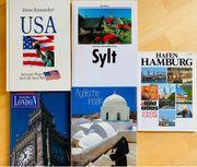 5 großformatige geb Bücher Reisen