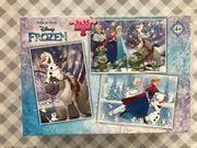 3 Puzzles Frozen Eiskönigin für