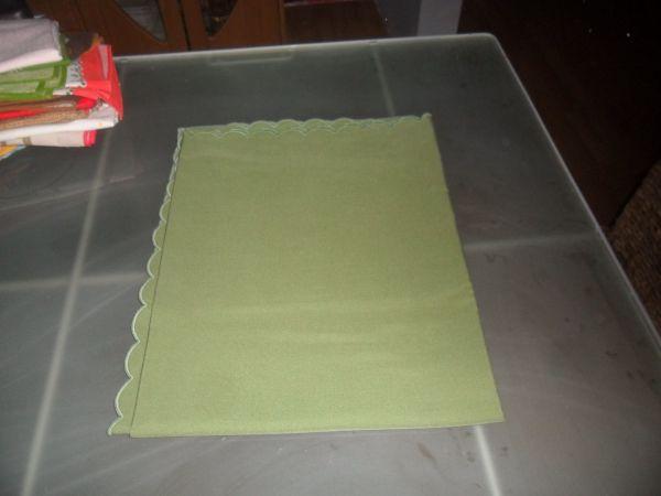 Tafeldecke grün
