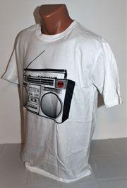 ORIGINAL BACARDI T-Shirt Radio Ghettoblaster