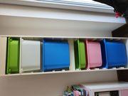 IKEA Trofast Regal mit Aufbewahrungsboxen