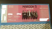 1 Entrittskarte Maroon 5