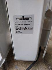 Elektrischer Heizradiator mit Gebläse