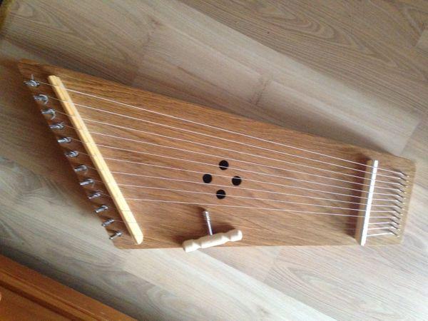 Kantele 12-saitig für Musik- Klangtherapie