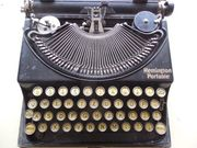 Sehr Alte Schreibmaschiene Typ Remington-