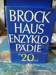 20 Bände von Brockhaus 1966