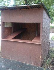 Gartenhaus Verkaufsstand Pavillon Holzbude Holz-