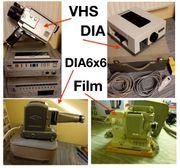 Museumsstücke Alte Projektoren Dia und