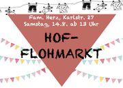 Hof-Flohmarkt in Lorsch am Samstag