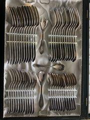 73-teiliges Silberbesteck Auerhahn 90 im