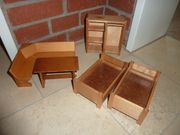 Puppenmöbel Holz gebraucht