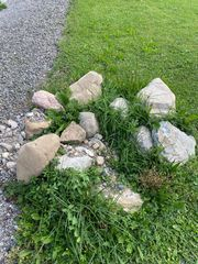 Steine kostenlos abzugeben