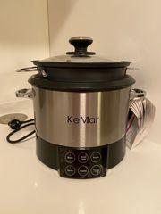 KeMar Multifunktionskocher Premium Reiskocher mit
