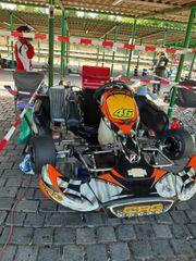 Rennkart - ROTAX MAX 125ccm