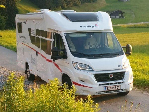 Sunlight T65 - Wohnmobile zum Sonderpreis