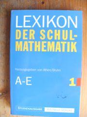 LEXIKON - SCHULMATHEMATIK - MATHEMATK - ATHEN BRUHN -