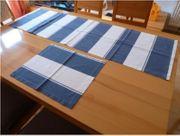 Tischläufer 2x passende Tischsets 6x