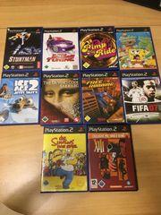Playstation 2 Spielesammlung 10 Spiele