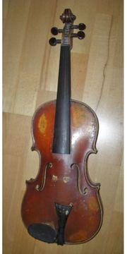 Alte Geige - Violine - 19 Jahrhundert