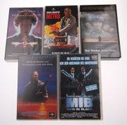 Videokassetten VHS Set Men In