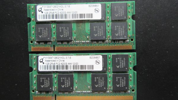Lap Top Speicher PC2-4200S