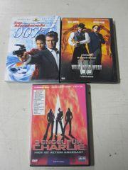 3 DVDs 007 Wild Wild