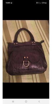 Vintage Tasche aus Leder