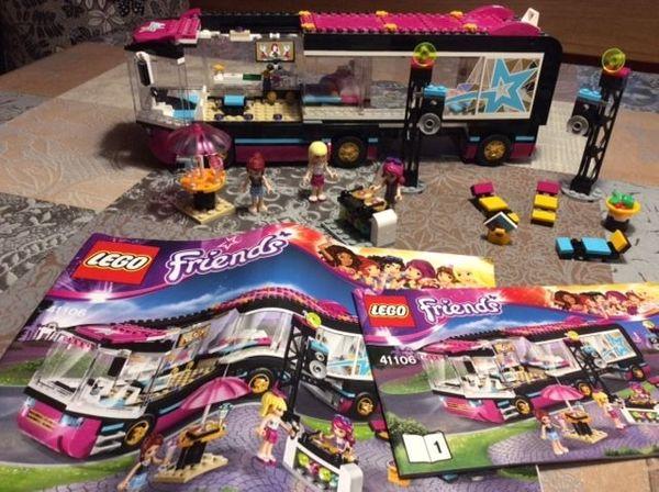 Lego Friends Popstar Tourbus Aufnahmestudio