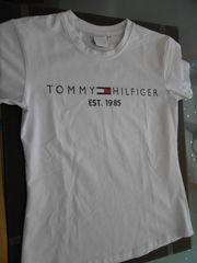 Tommy Hilfiger - Damen T-Shirt - weiß -